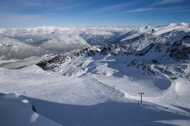 Horstman Glacier and Tbar Blackcomb Mountain